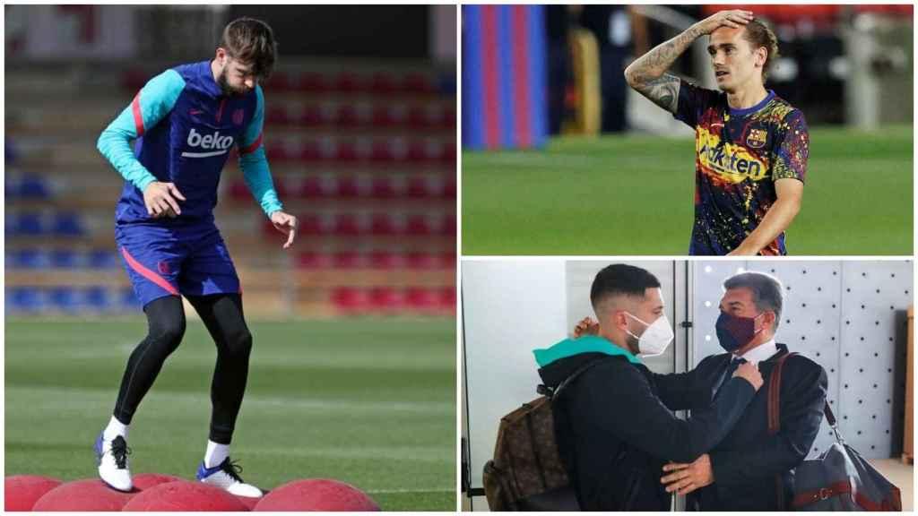 El Barça, a dos días de El Clásico