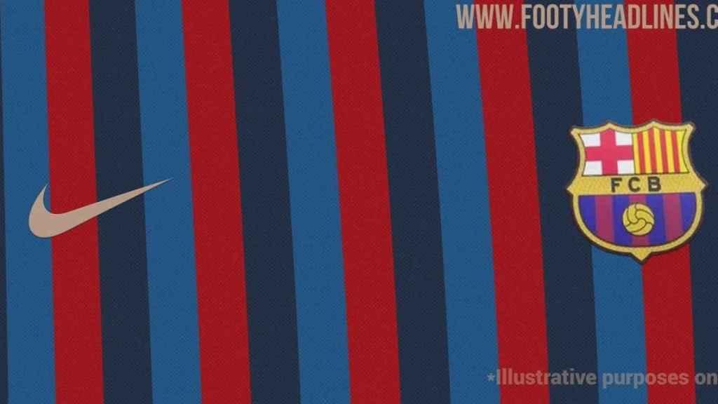 FC Barcelona - 1ª equipación 2022/2023