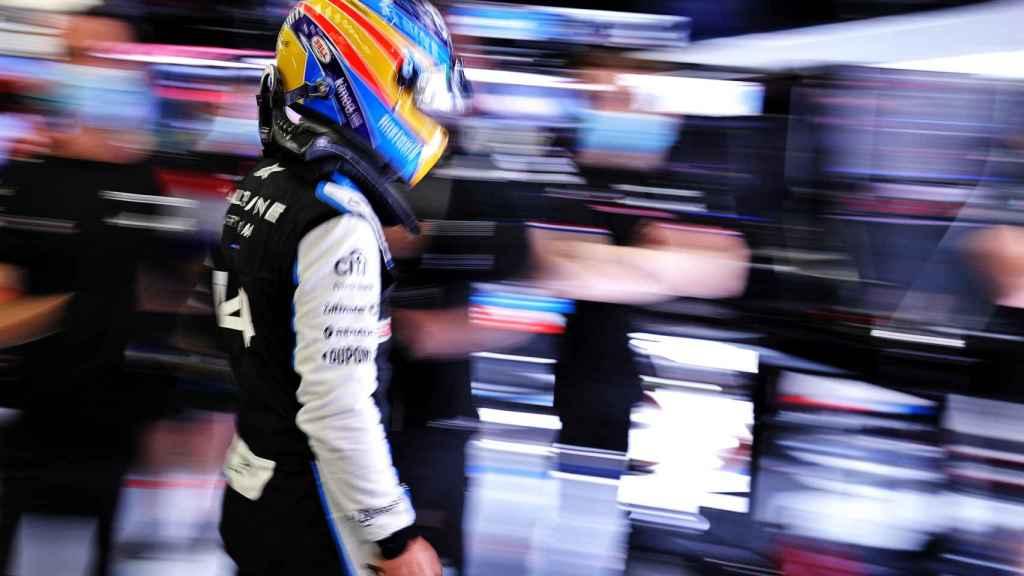Fernando Alonso, con Alpine F1