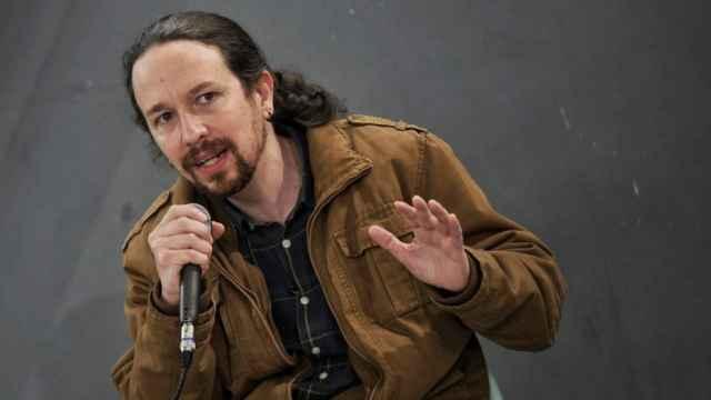 Pablo Iglesias, candidato de Podemos a la Presidencia de la Comunidad de Madrid.