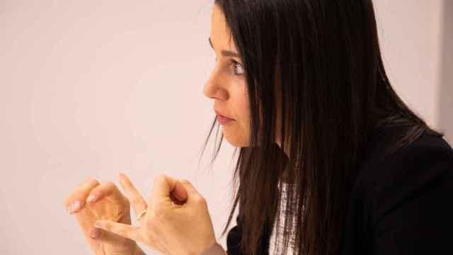 Inés Arrimadas, durante una entrevista pasada con El Español.