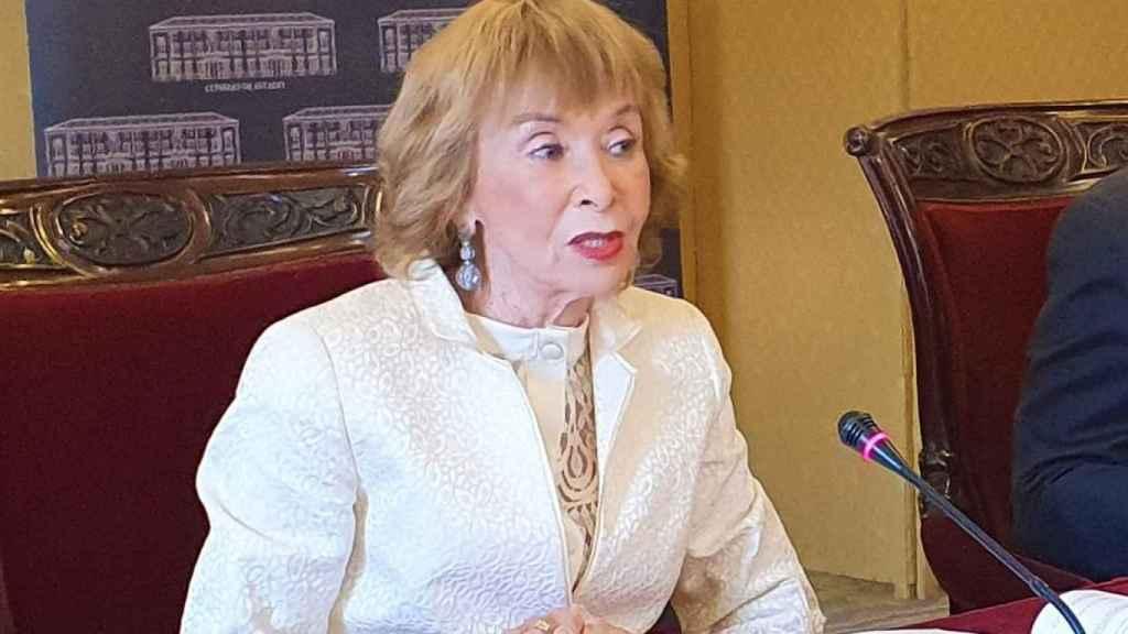 María Teresa Fernández de la Vega, presidenta del Consejo de Estado.