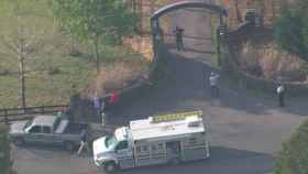 Exterior de la zona donde se ha producido el tiroteo. CNN