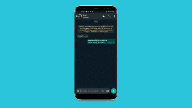 WhatsApp tiene un truco para contestar mensajes sin tocar el móvil.
