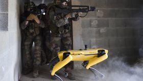 Soldado 'Spot': así usa el ejército francés al perro robótico de Boston Dynamics
