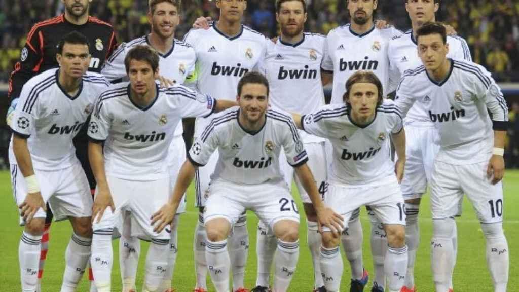 Alineación del Real Madrid 2012/2013