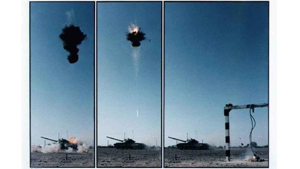 Secuencia de lanzamiento de mina de ataque superior