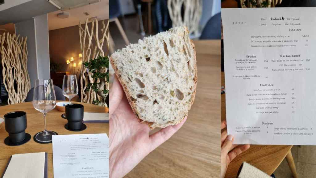 Carta, espacio y pan. Éter.