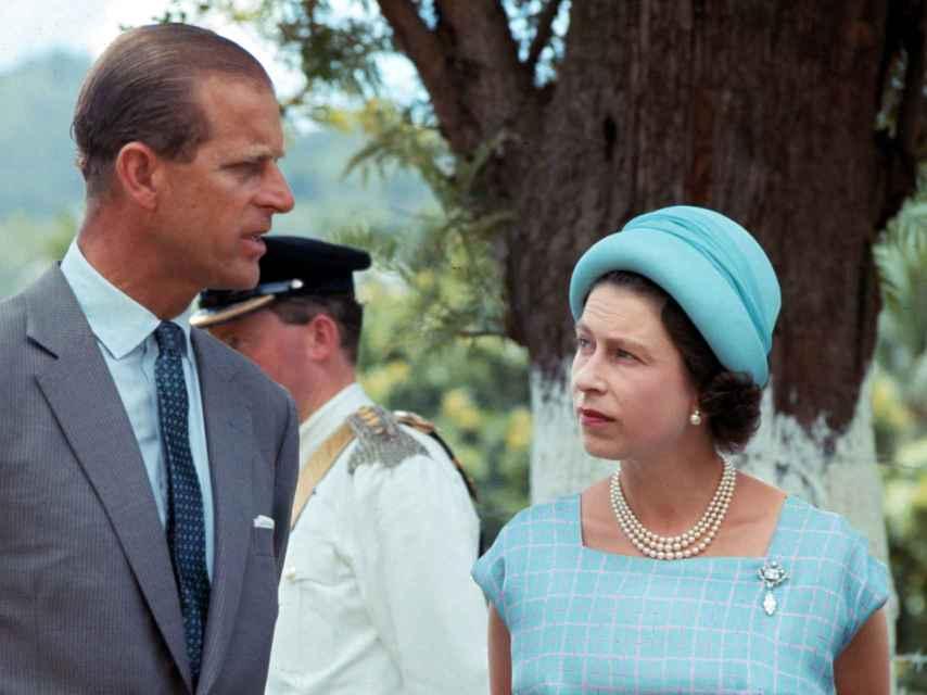 Felipe e Isabel II en un acto institucional el 23 de febrero de 1966.