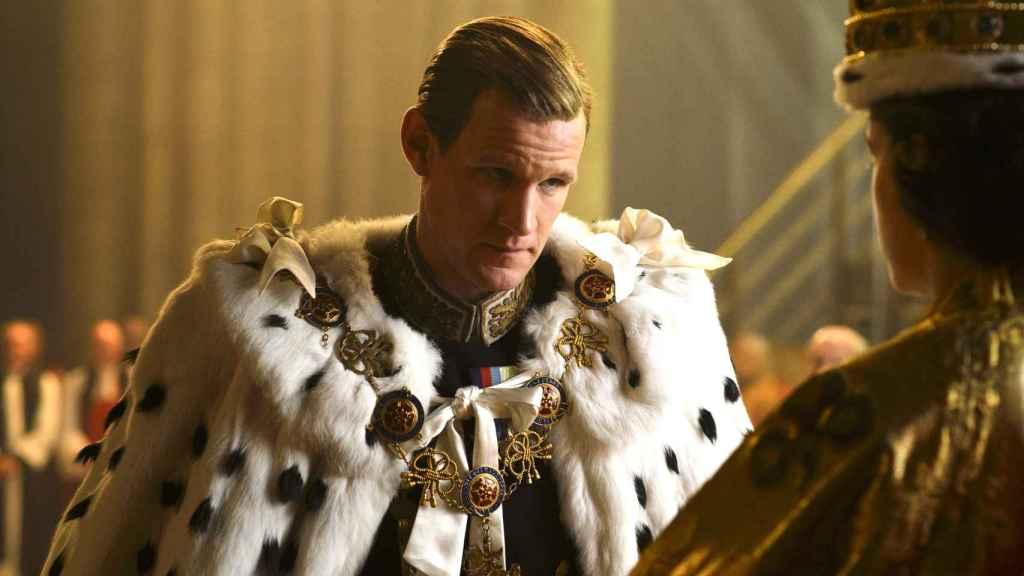 Matt Smith en 'The Crown'.