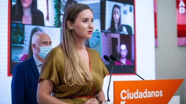 La dirigente de Ciudadanos Melisa Rodríguez.
