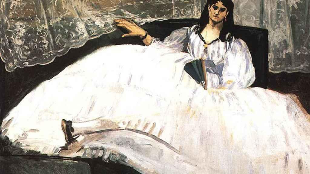 Retrato de Jeanne Duval, por Manet.
