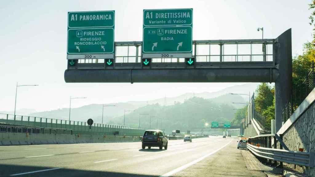 Una de las autopistas que Atlantia controla en Italia a través de Autostrade.