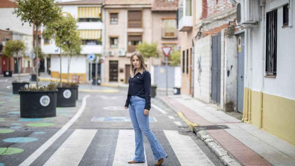 Noelia Núñez, portavoz del PP en Fuenlabrada, posa para EL ESPAÑOL.