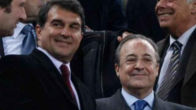 Laporta y Florentino Pérez