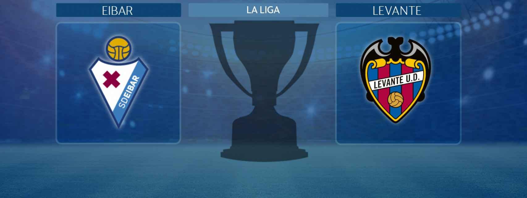 Eibar - Levante, partido de La Liga