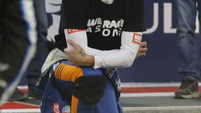 Ricciardo en el Gran Premio de Bahrein de Fórmula 1
