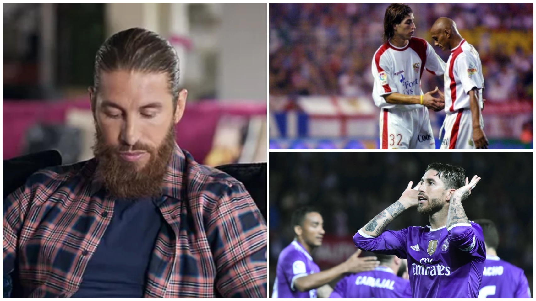 Sergio Ramos, en su documental de Prime Video