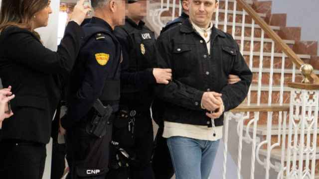Norbert Feher, el día que llegó a la Audiencia Provincial de Teruel en enero de 2020.