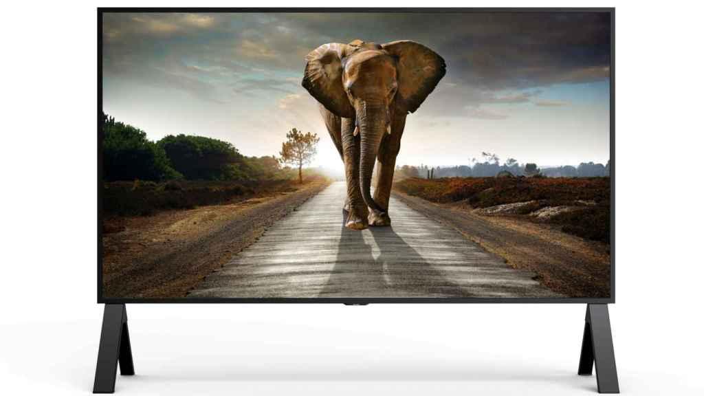 La pantalla profesional 8K de Sharp tiene 120 pulgadas.