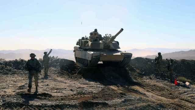 Maniobras con tanques de la US Army