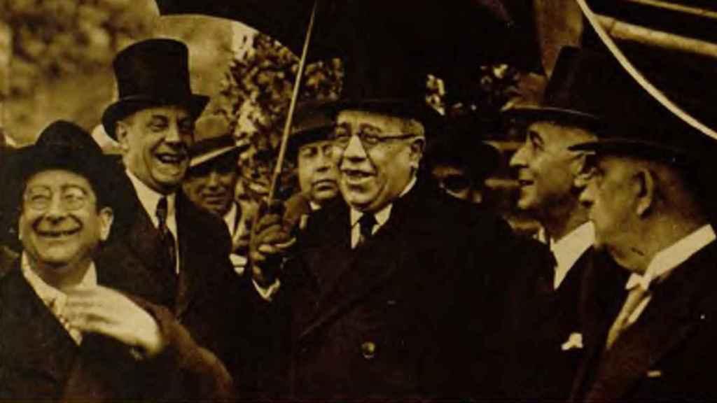 Manuel Azaña, el día del desfile.