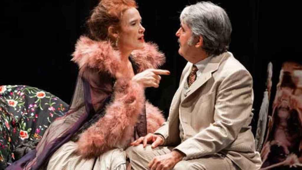 Fotografía de la obra dirigida por Manuel Canseco en los teatros del Canal.