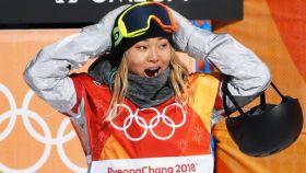 Chloe Kim, campeona de snowboard