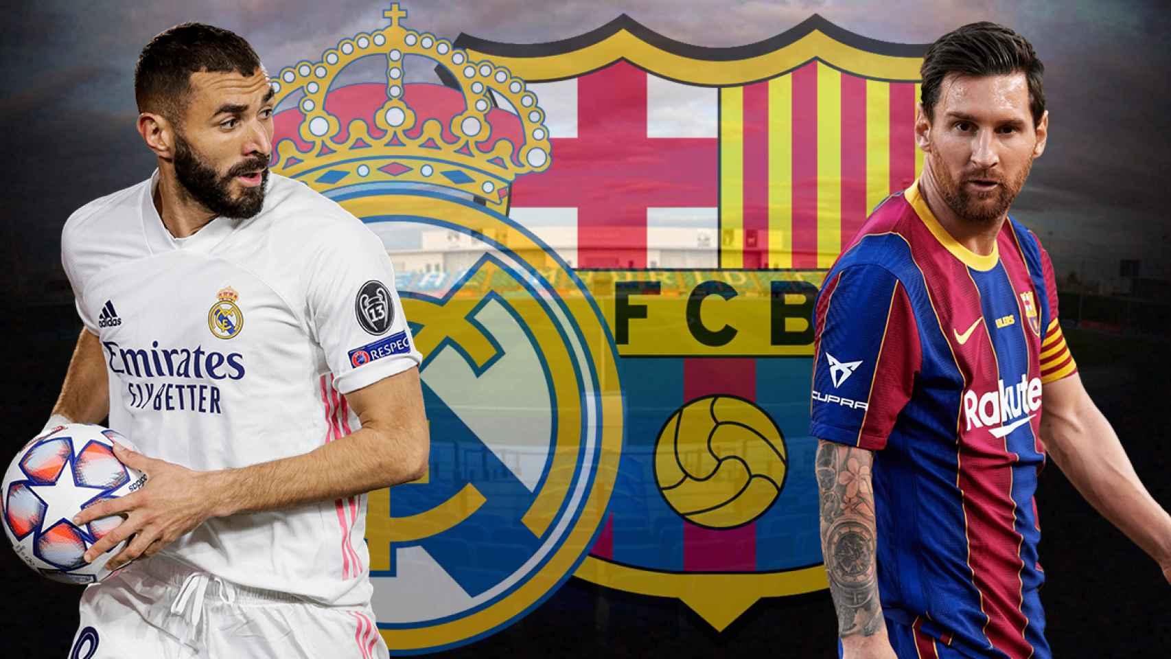 Previa Real Madrid - Barcelona