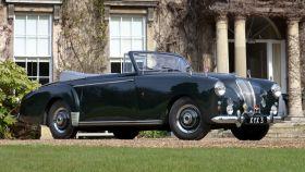 El Lagonda 3 Litre Drophead Coupe que encargó el Duque de Edimburgo a Aston Martin.