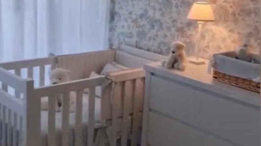 Así es la habitación que Paula Echevarría y Miguel Torres le han preparado a su hijo recién nacido.