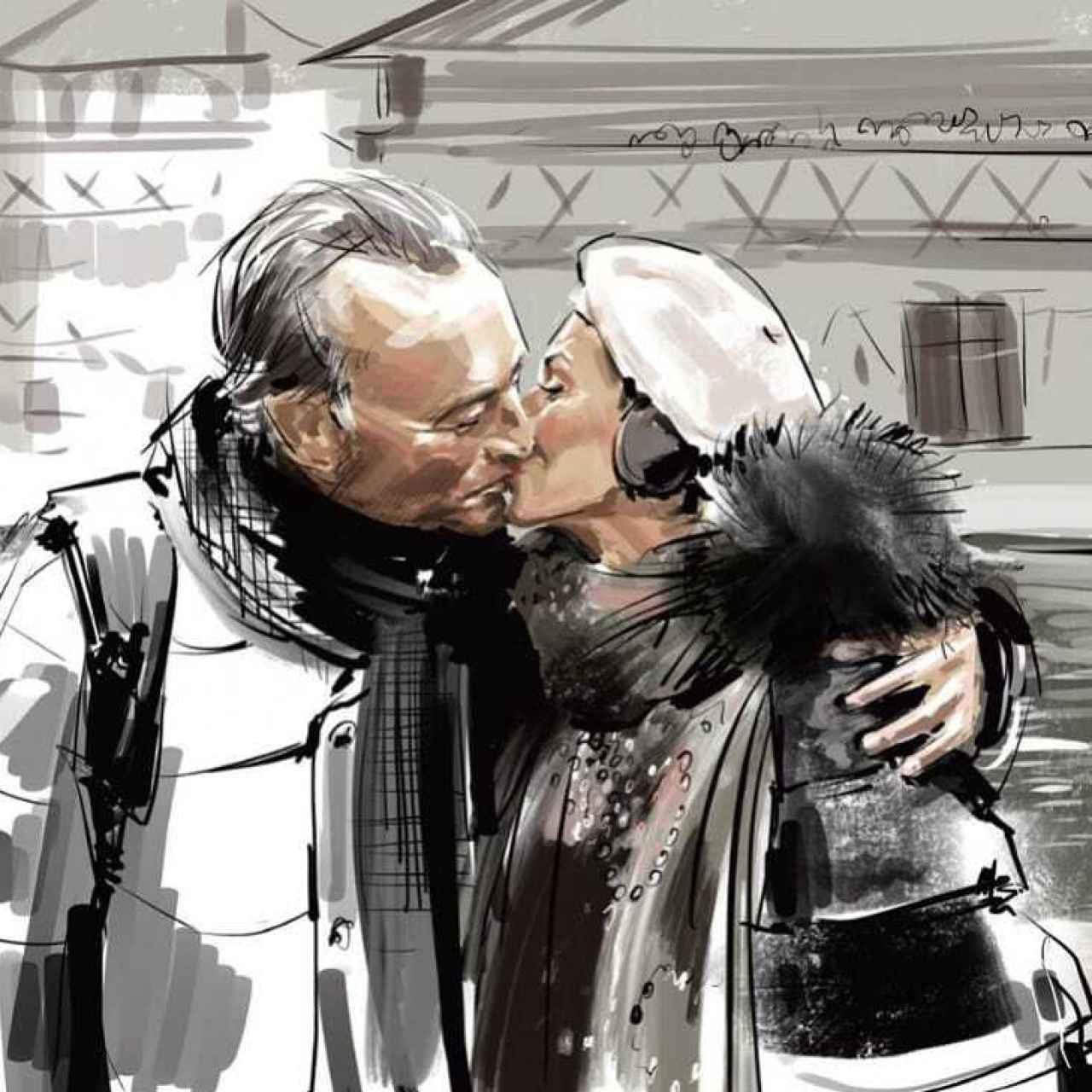 Una de las pocas imágenes que Jato ha compartido de su relación con Alberto Fabra.