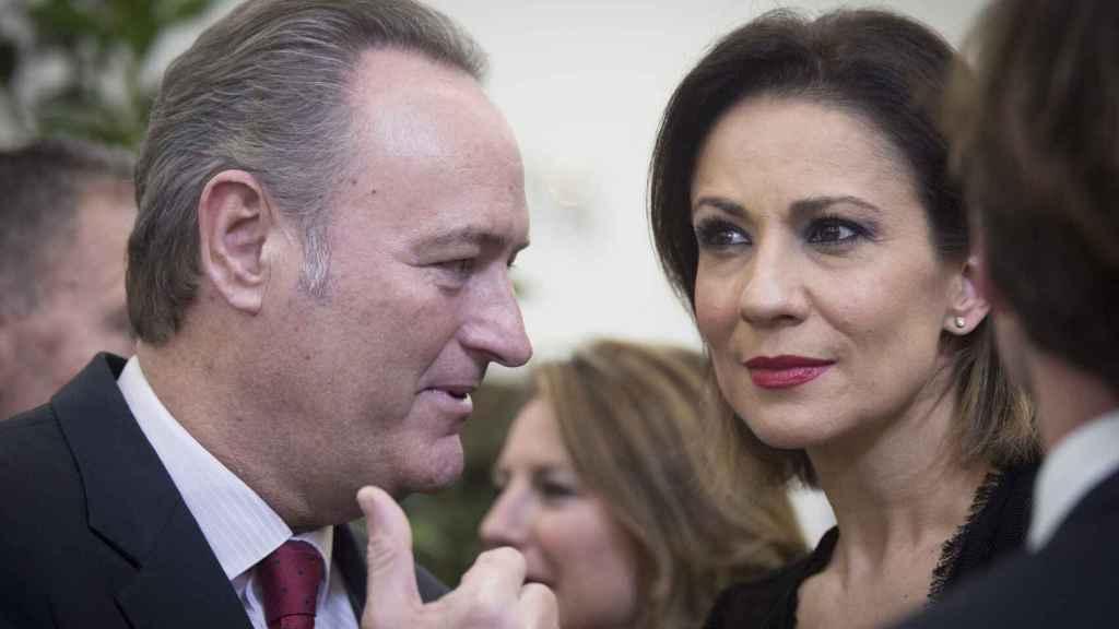 Silvia Jato y Alberto Fabra en una imagen de archivo.