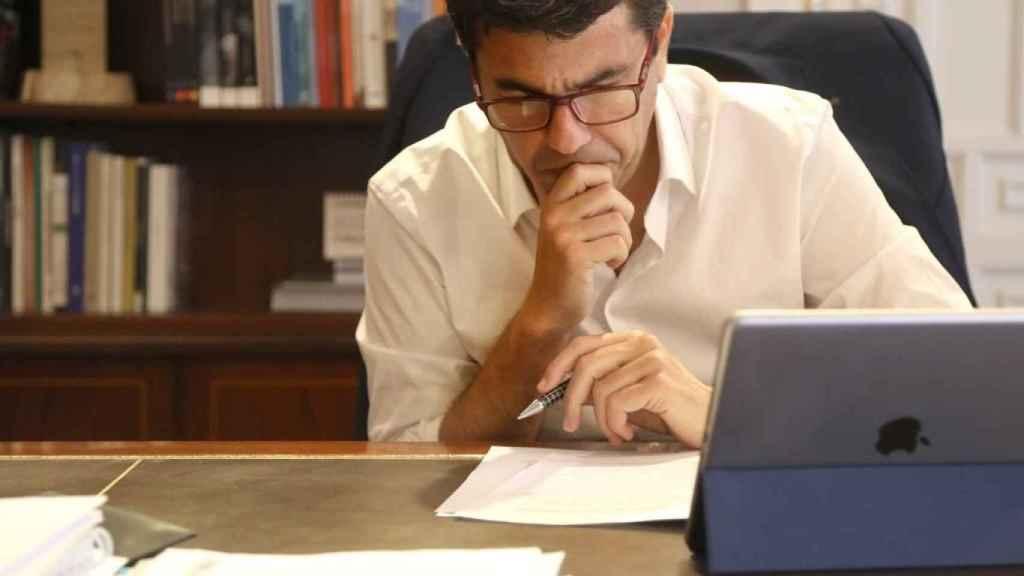 El presidente de la Diputación de Alicante, Carlos Mazón (PP).