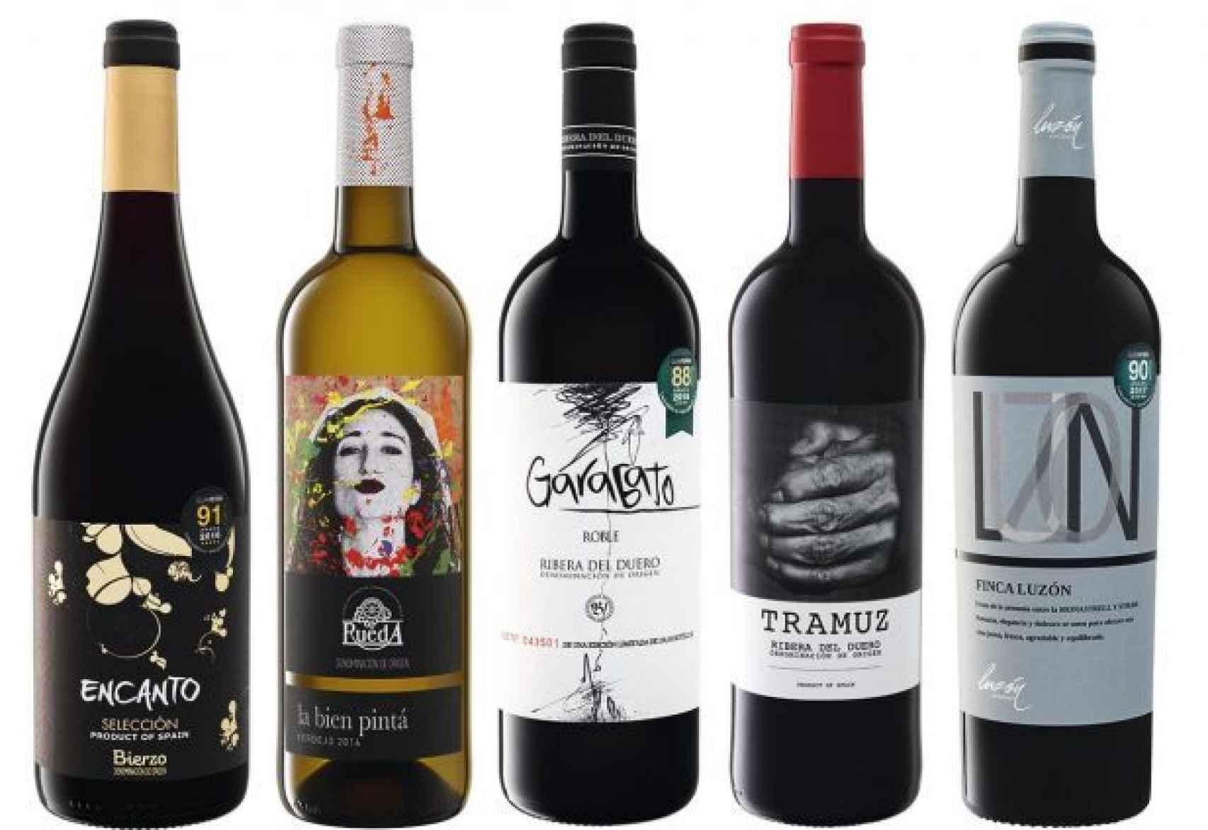 Estos son los cinco mejores vinos del Lidl en relación calidad-precio.