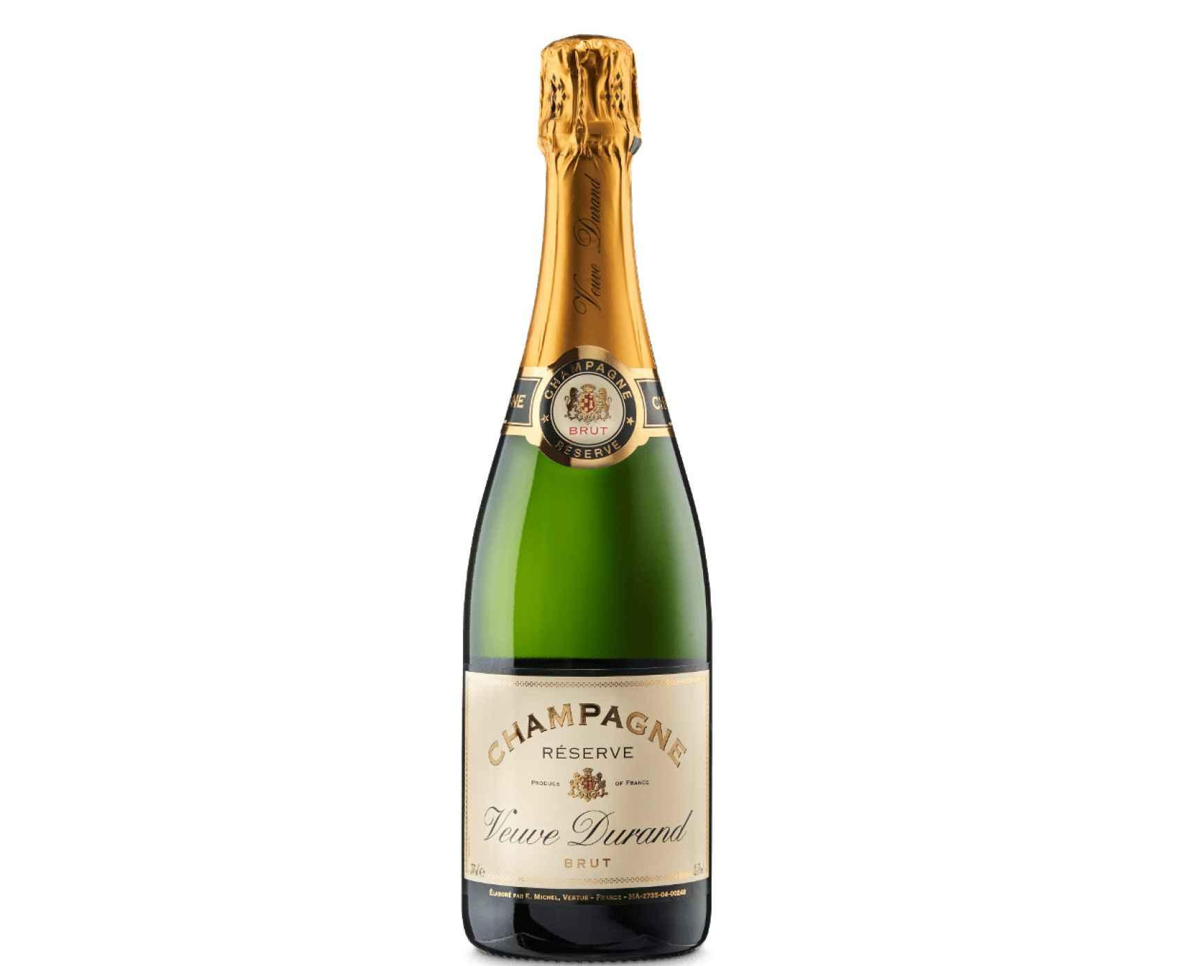 Champagne Veuve Durand Réserve, calidad a precio de risa en Lidl.