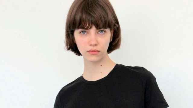 La modelo Olivia Martín en una foto de sus redes sociales.