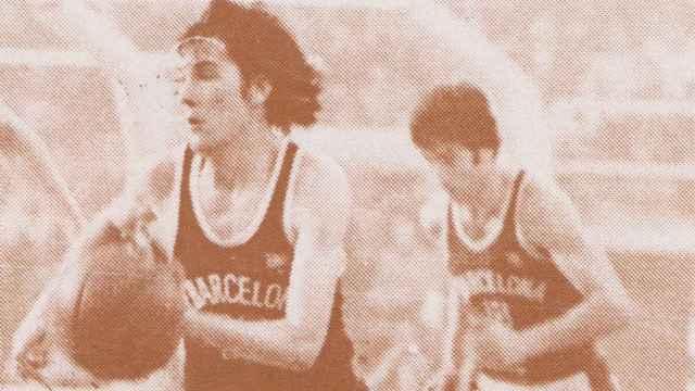 Miguel López Abril con el FC Barcelona