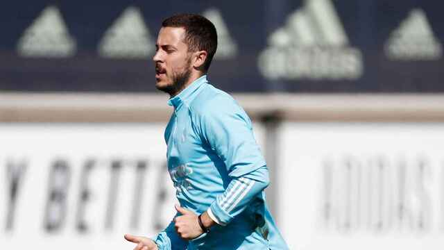 Hazard, la noticia del entrenamiento del Real Madrid
