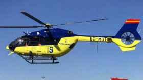 Imagen de archivo de uno de los helicópteros medicalizados del Sescam