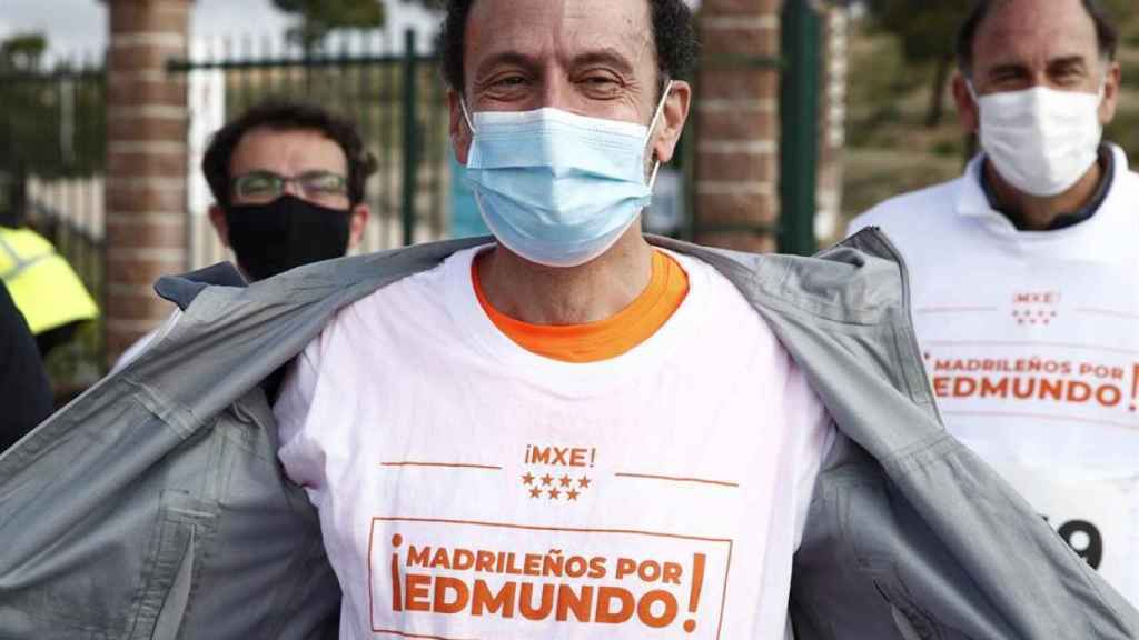Edmundo Bal, este domingo en la X Carrera Popular de Hortaleza.