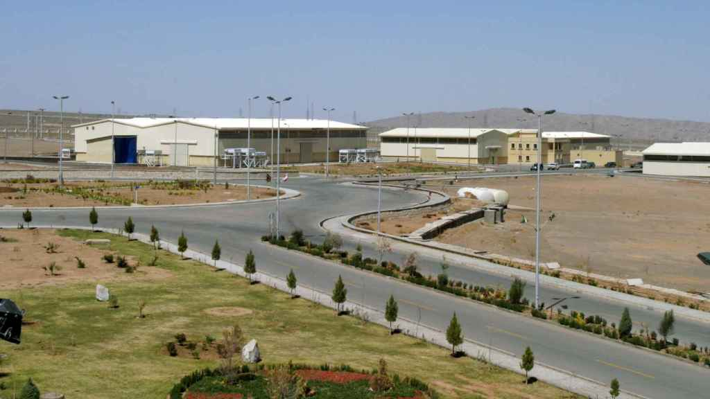 La planta de enriquecimiento de uranio iraní de Natanz.