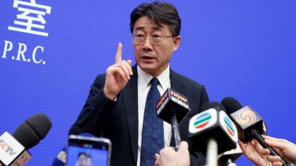 Gao Fu,  director del Centro de Control y Prevención de Enfermedades de China.