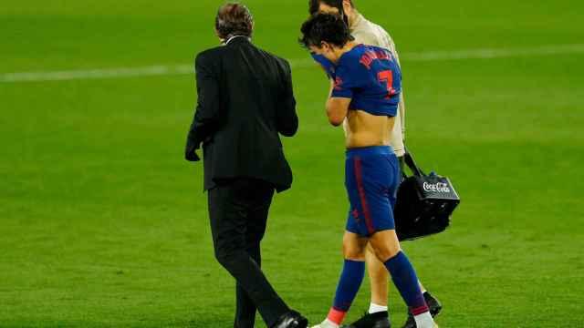 Las imágenes del mundo del deporte: la lesión de Joao Félix, un nuevo golpe al Atlético