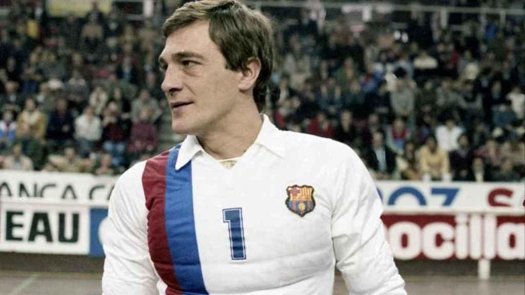 Carlos Trullols, durante su etapa como jugador del Barça