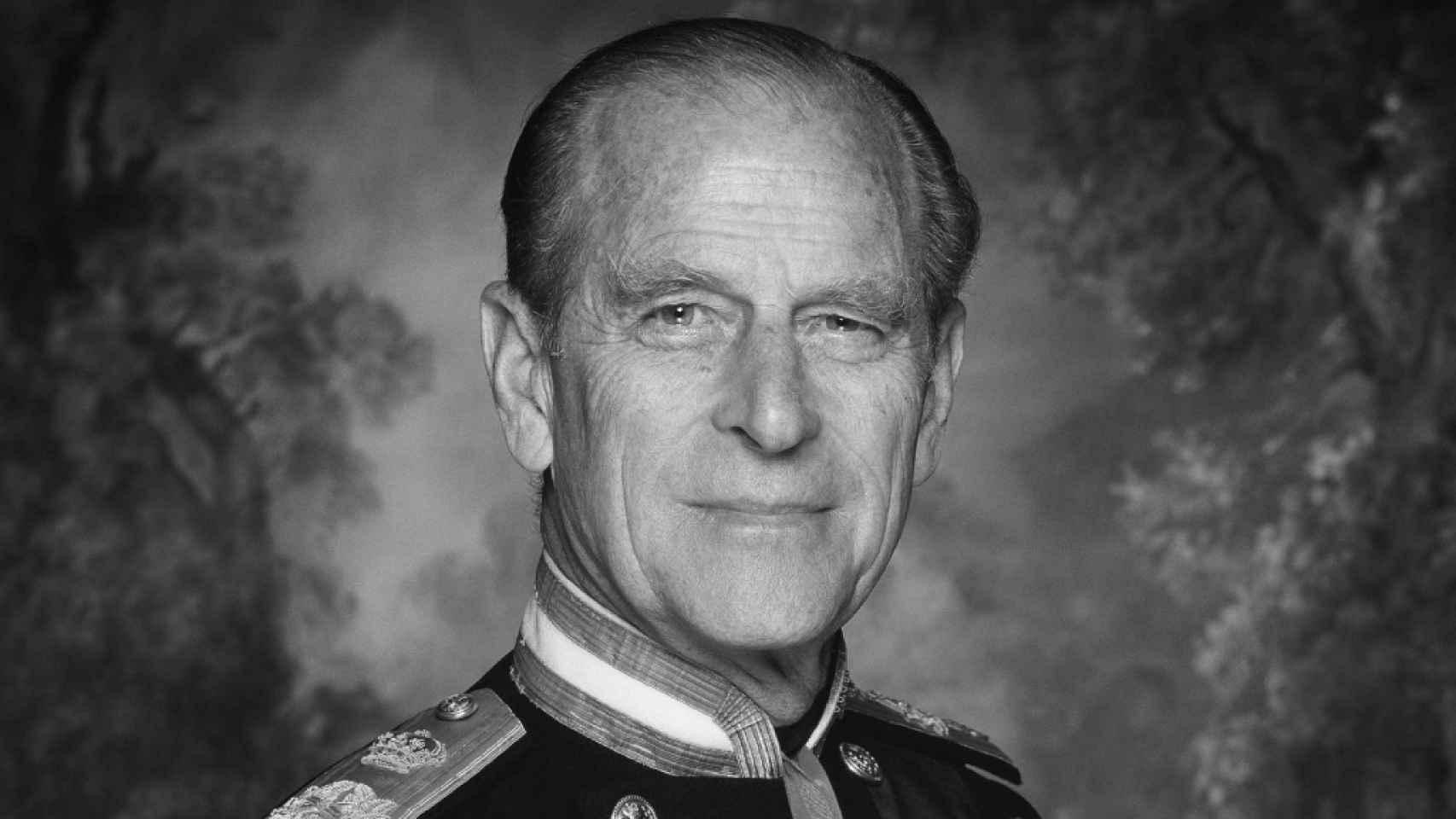 El duque de Edimburgo, en una imagen difundida por la Casa Real británica.