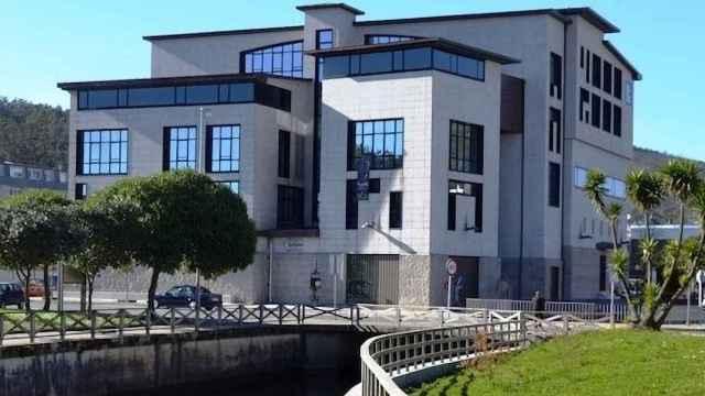 El Auditorio Baldomero Cores, en el municipio coruñés de Cee.