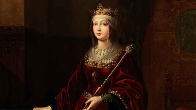 Retrato de Isabel la Católica, según Luis de Madrazo y Kuntz.
