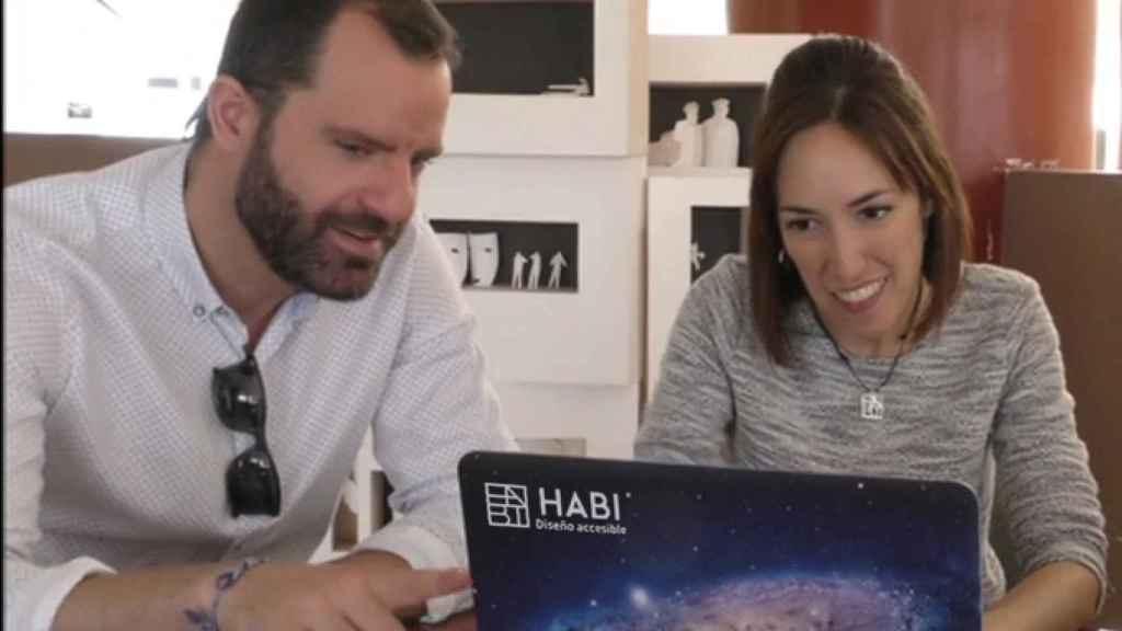 Alberto Cruz y Lourdes Domínguez son los fundadores de HABI.