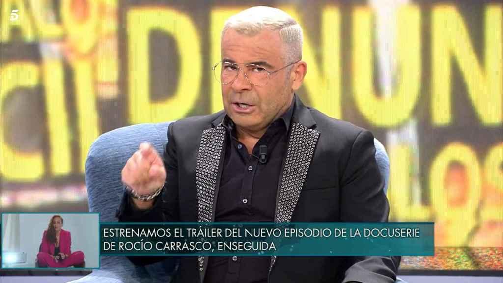Jorge Javier considera que el excesivo debate no favorece a Rocío Carrasco.